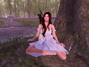 Fae under the tree
